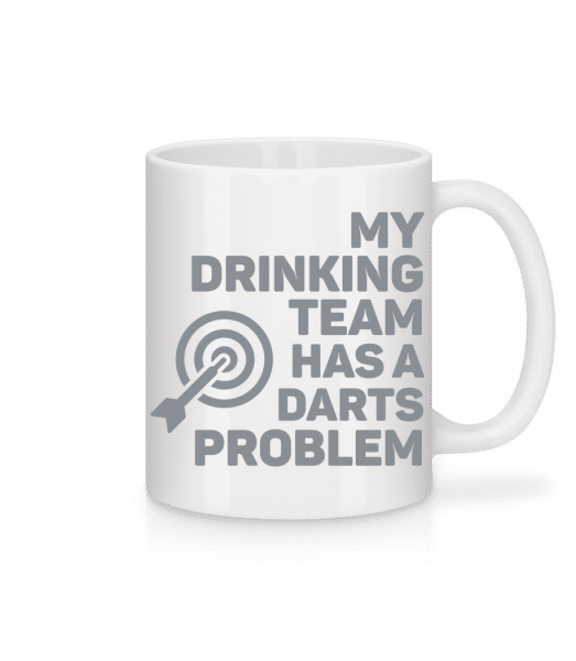 Drinking Darts - Mug - White - Front