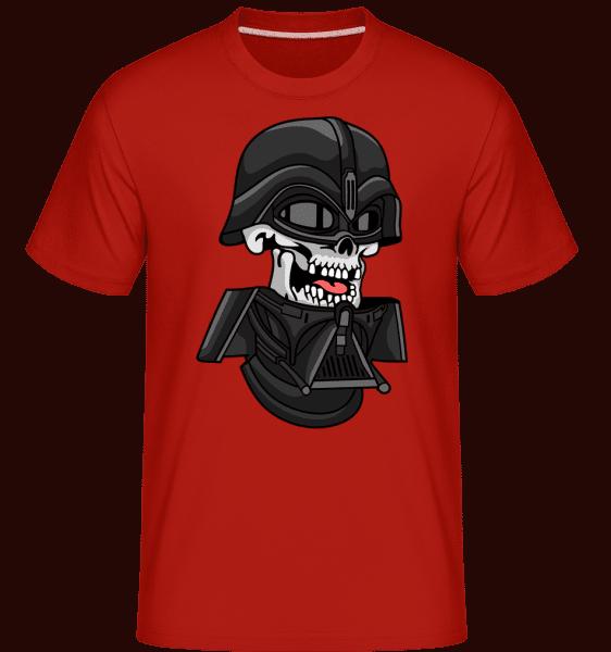 Dart Vader Skull -  Shirtinator Men's T-Shirt - Red - Vorn