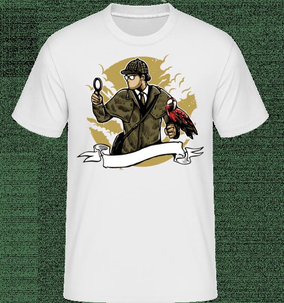 Sherlock Holmes -  Shirtinator Men's T-Shirt - White - Front