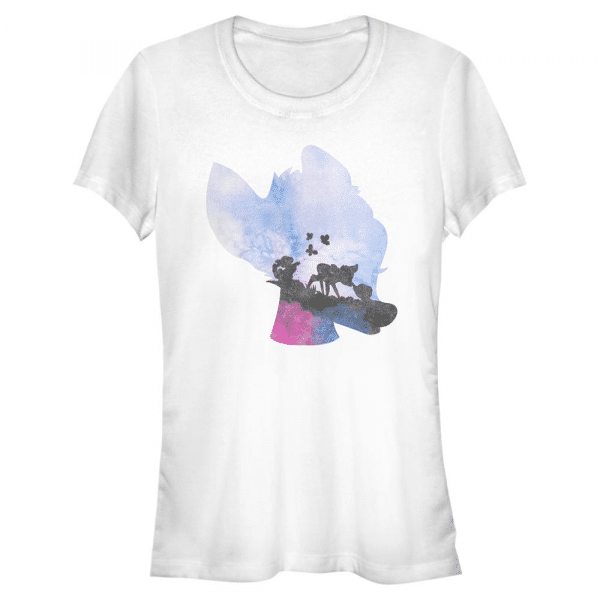 Watercolor Bambi - Disney - Women's T-Shirt - White - Front