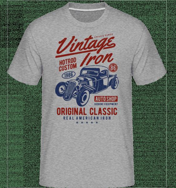 Vintage Iron -  Shirtinator Men's T-Shirt - Heather grey - Vorn