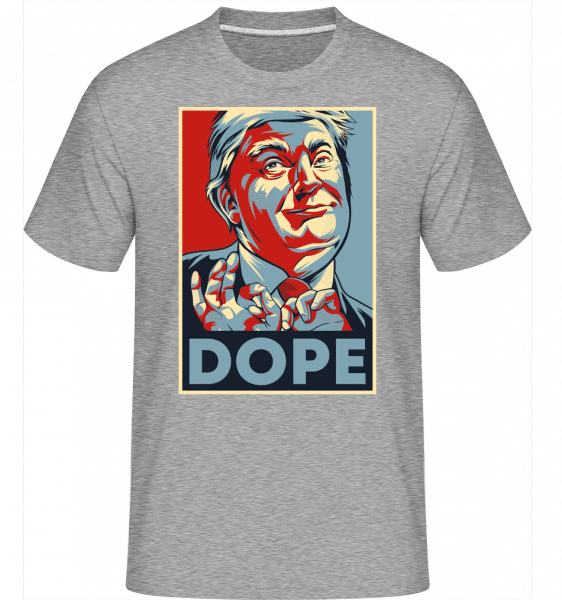 Dope -  Shirtinator Men's T-Shirt - Heather grey - Vorn