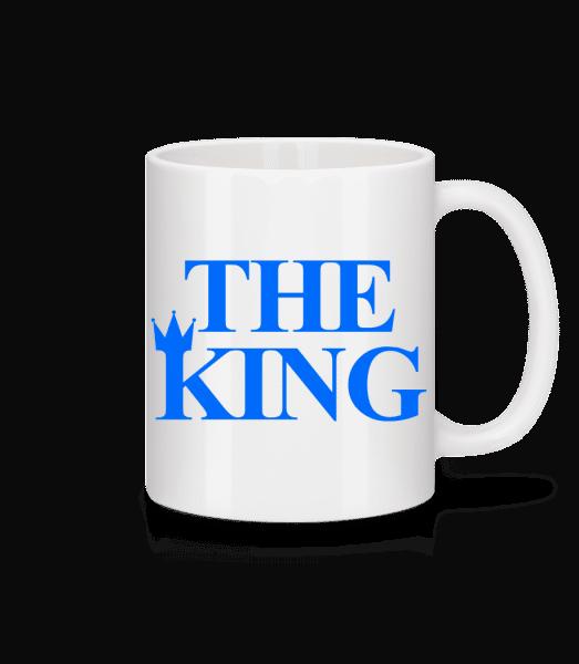 The King Blue - Mug - White - Vorn