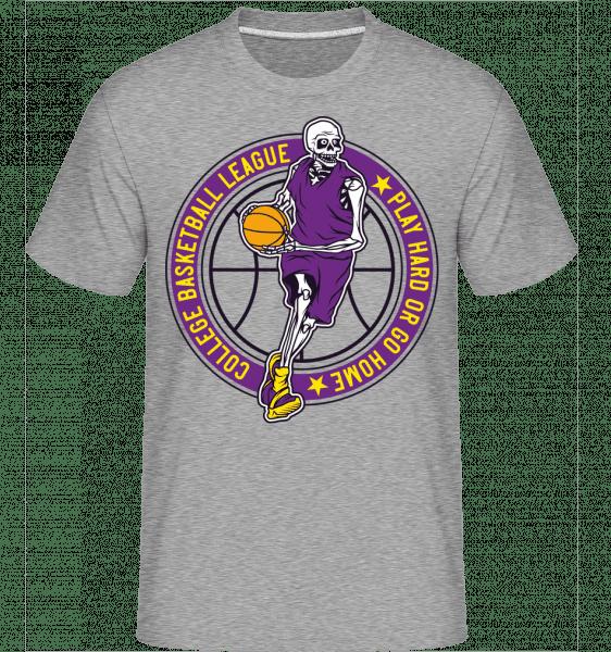 College Basketball League -  Shirtinator Men's T-Shirt - Heather grey - Vorn
