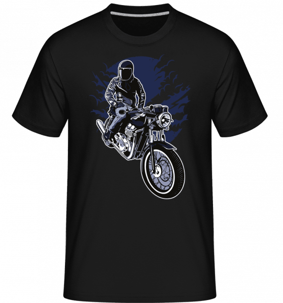 Night Rider -  Shirtinator Men's T-Shirt - Black - Vorn