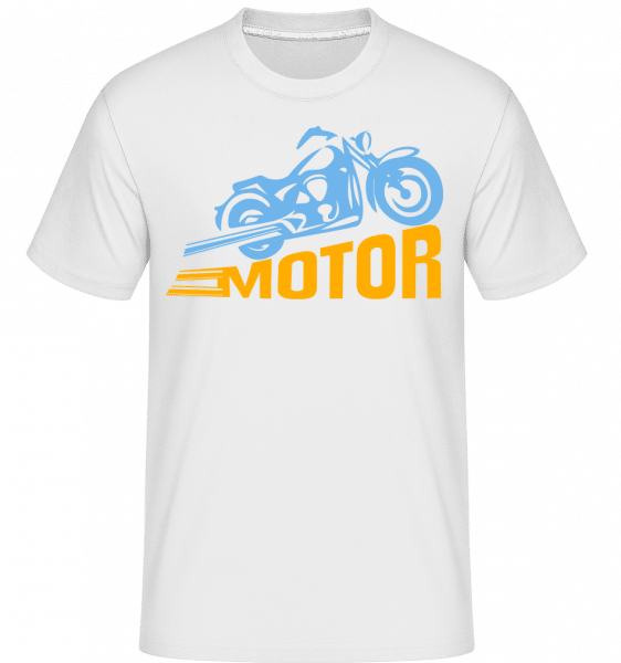 Motor -  Shirtinator Men's T-Shirt - White - Vorn