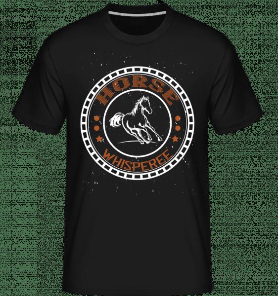 Horse Whisperee -  Shirtinator Men's T-Shirt - Black - Vorn