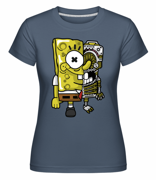 Spongebob -  Shirtinator Women's T-Shirt - Denim - Vorn