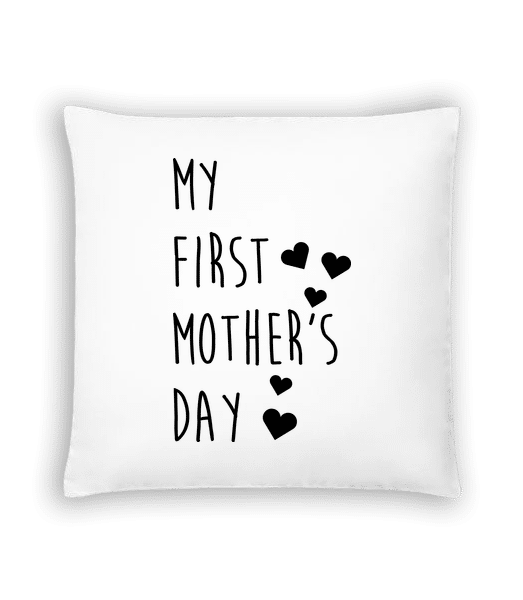 My First Mother's Day - Cushion - White - Vorn