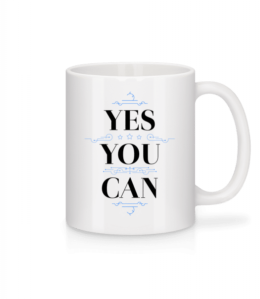 Yes, You Can - Mug - White - Vorn