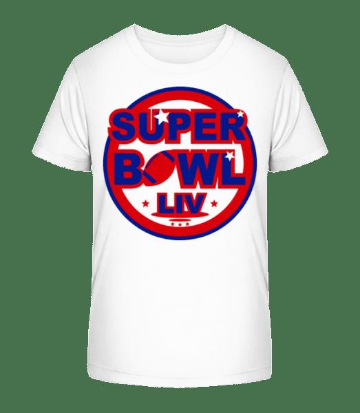 Super Bowl LIV - Kid's Premium Bio T-Shirt - White - Vorn