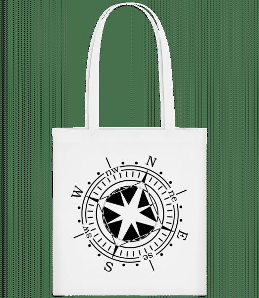 Compass - Carrier Bag - White - Vorn
