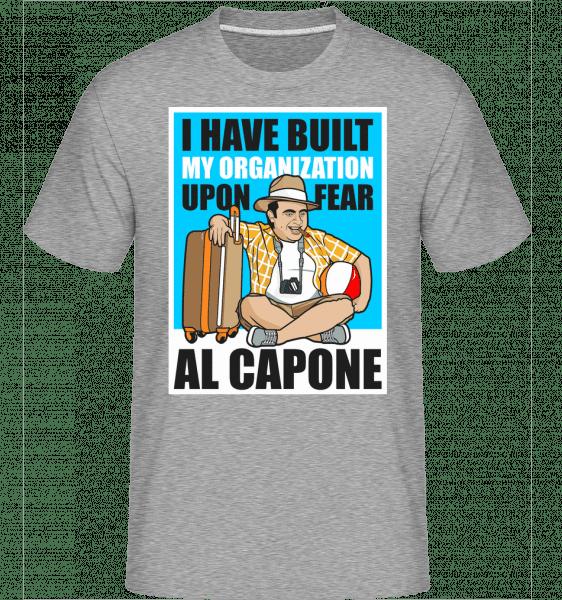 Al Capone Holiday -  Shirtinator Men's T-Shirt - Heather grey - Front