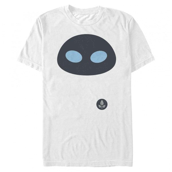 Eve Face - Pixar Wall-E - Men's T-Shirt - White - Front
