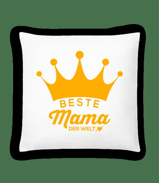 Beste Mama Der Welt - Kissen - Weiß - Vorn