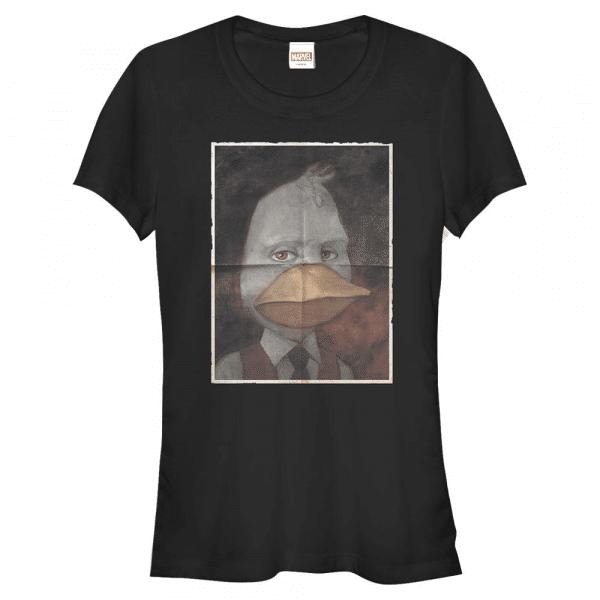 Howard Duckman Howard the Duck - Marvel - Women's T-Shirt - Black - Front