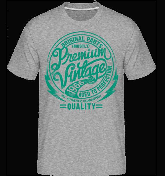Premium Vintage T-shirt 2 -  Shirtinator Men's T-Shirt - Heather grey - Vorn