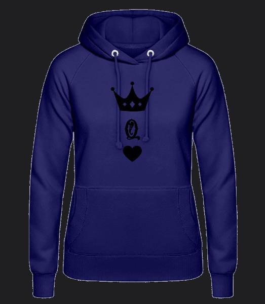 Queen Crown - Women's Hoodie - Purple - Vorn