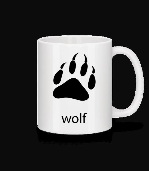 Wolf Paw - Mug - White - Vorn