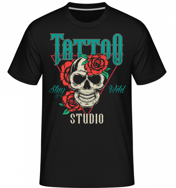 Stay Wild Studio -  Shirtinator Men's T-Shirt - Black - Vorn
