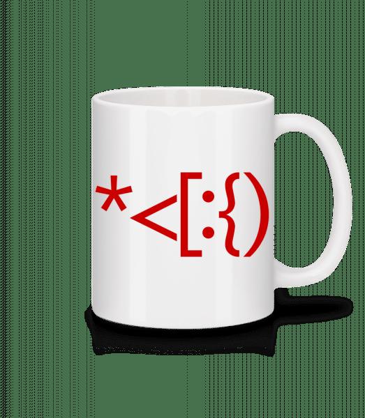 Brackets Santa - Mug - White - Vorn