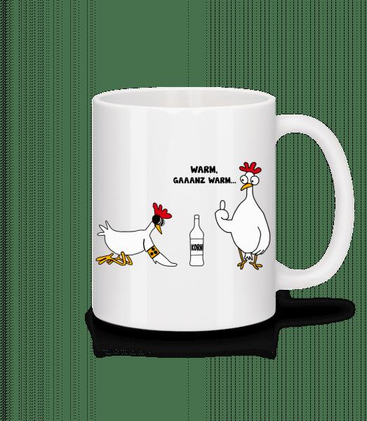 Ein Blindes Huhn - Tasse - Weiß - Vorn