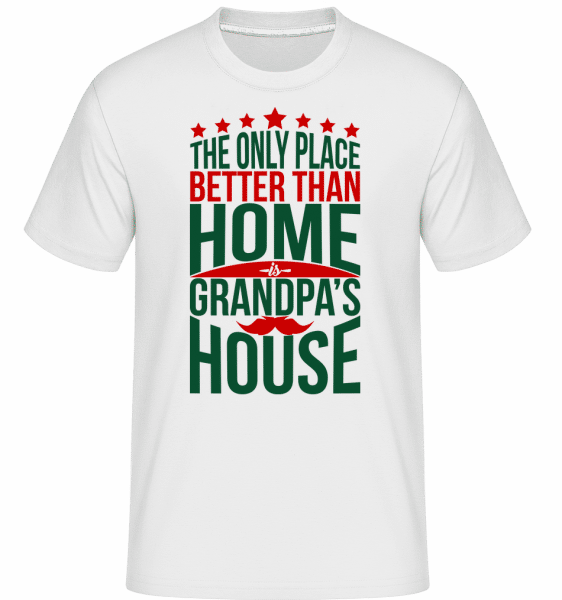 Grandpas House -  Shirtinator Men's T-Shirt - White - Vorn