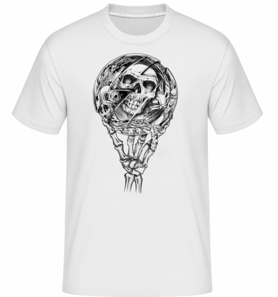 Mirror Dead -  Shirtinator Men's T-Shirt - White - Vorn