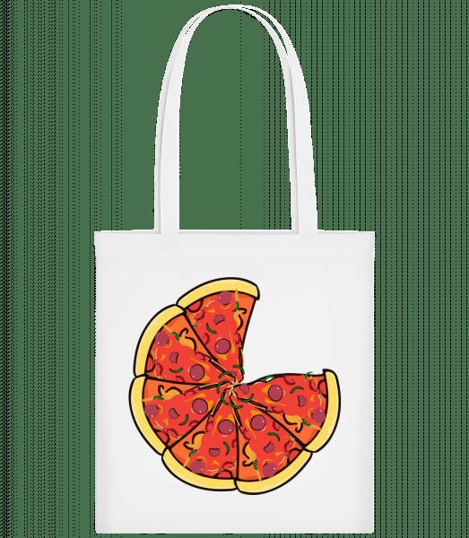 Pizza - Carrier Bag - White - Vorn