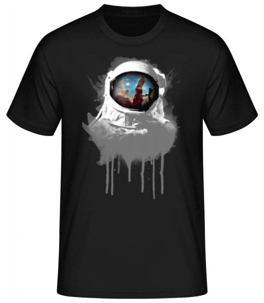 Astronaut - Men's Basic T-Shirt - Black - Front