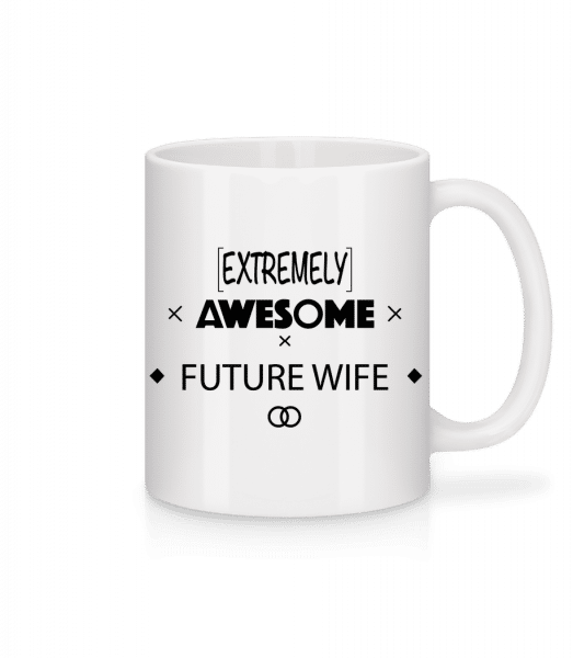 Awesome Future Wife - Mug - White - Vorn