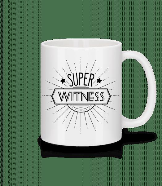 Super Witness - Mug - White - Vorn