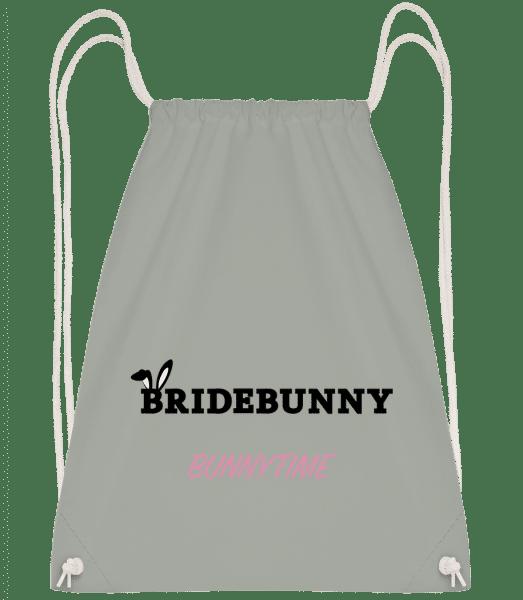 Bridebunny Bunnytime - Drawstring Backpack - Anthracite - Vorn