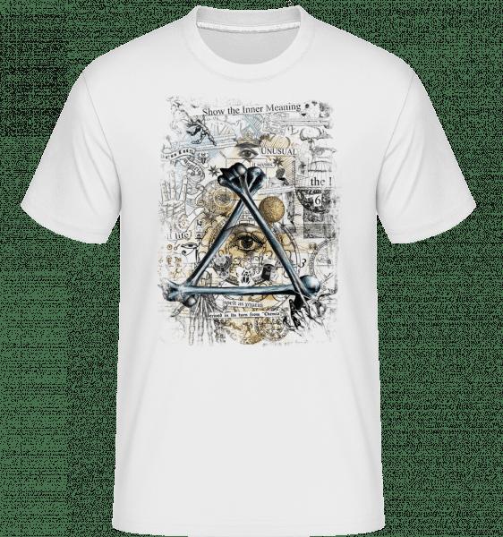 Show The Inner Meaning - Shirtinator Men's T-Shirt - White - Vorn