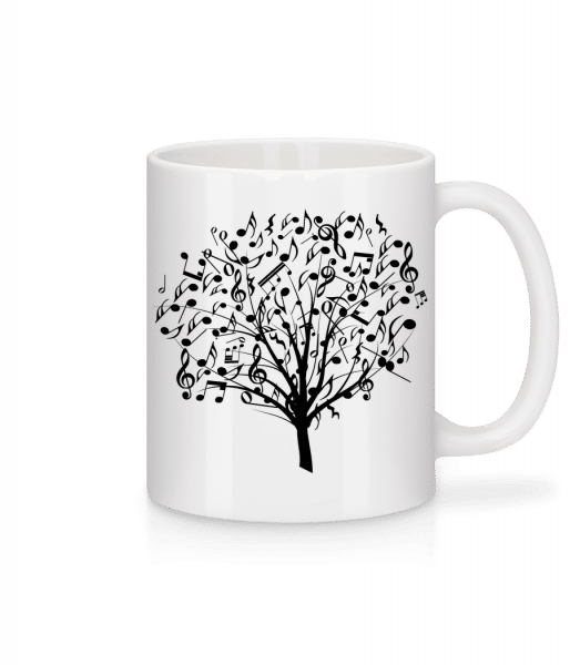 Music Tree - Mug - White - Vorn